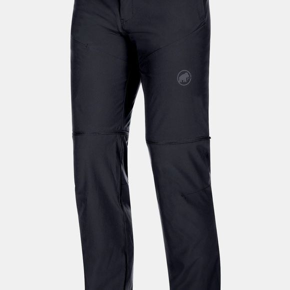 Mammut Mens Runbold Zip Off Pants Black