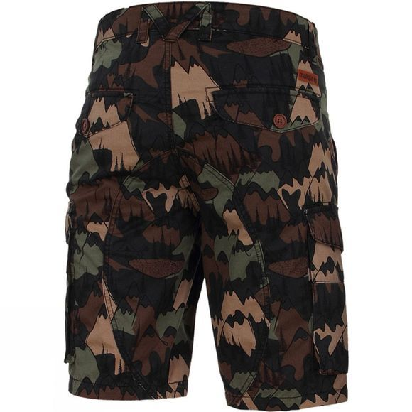 Maloja Men's Rageth Short Green/Green Marl