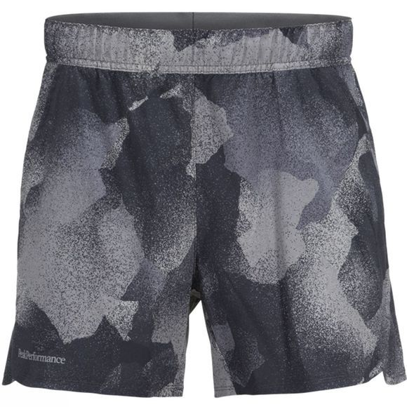 Peak Performance Men's West 4th Street Print Shorts Black Print/ Cast Iron