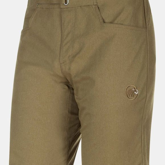 Mammut Mens Massone Shorts Olive Melange