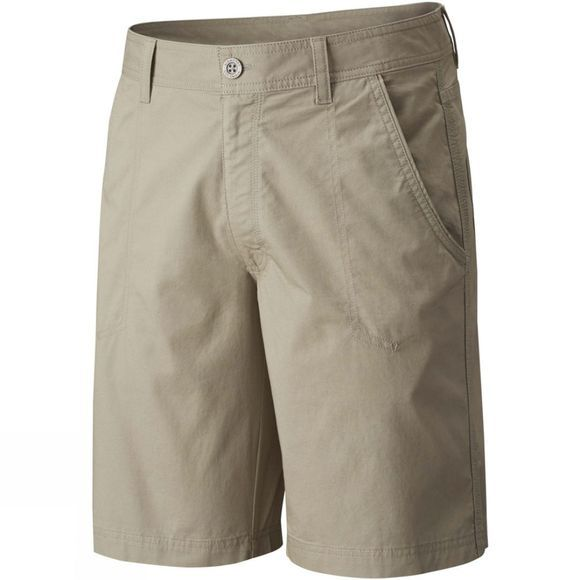 Columbia Mens Boulder Ridge 5 Pocket Shorts Tusk