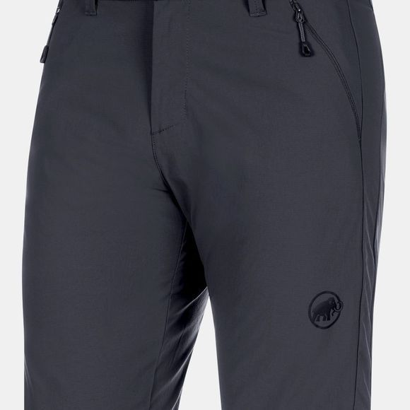 Mammut Mens Hiking Shorts Black