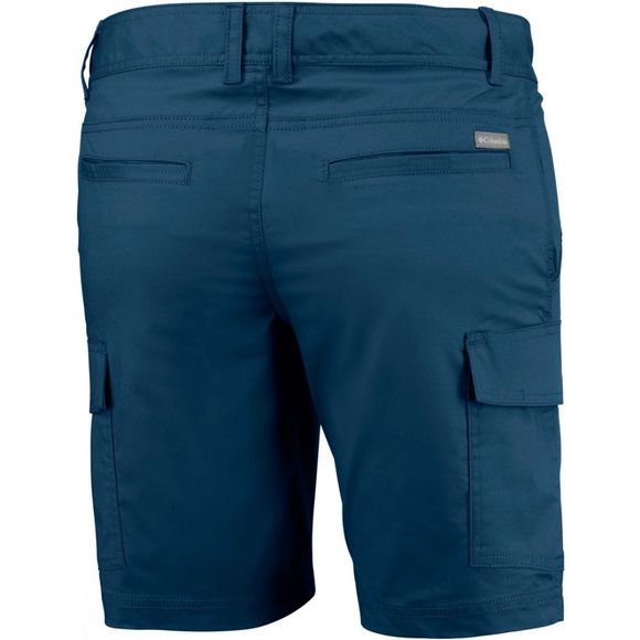 Columbia Mens Boulder Ridge Cargo Short Petrol Blue
