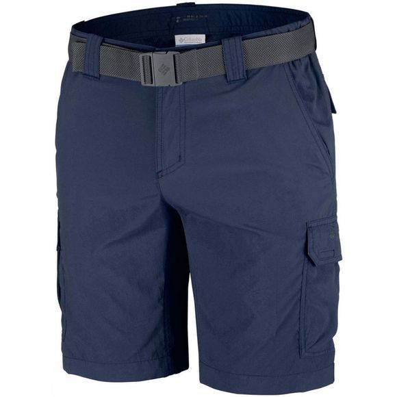 Columbia Mens Silver Ridge II Cargo Short Abyss