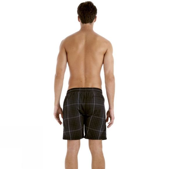 Men's Yarn Dyed Check Leisure 18In Watershort