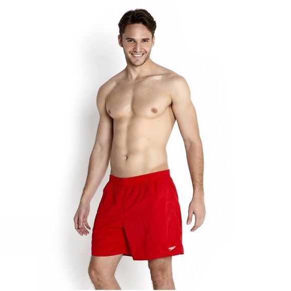 Men's Solid Leisure 16In Watershort