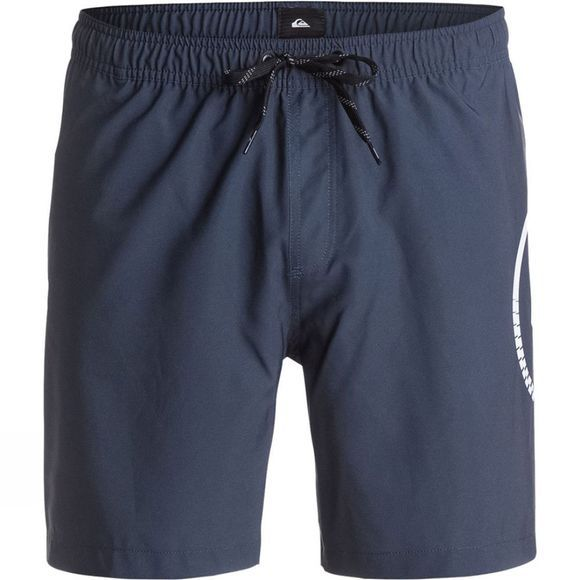 Quiksilver Men's Sideways Volley 17 Boardshort Navy Blazer