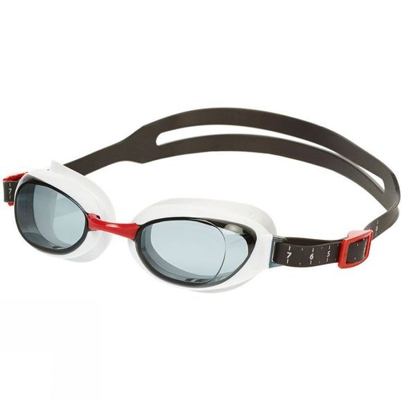 Speedo Unisex Aquapure Goggle Red/smoke