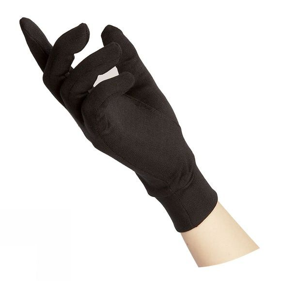 Steiner Winter Silk Glove Liner Black