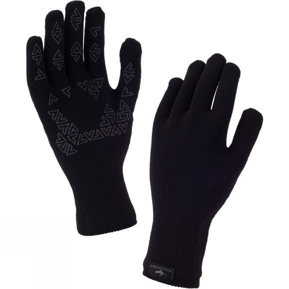 SealSkinz Men's Ultra Grip Glove Black