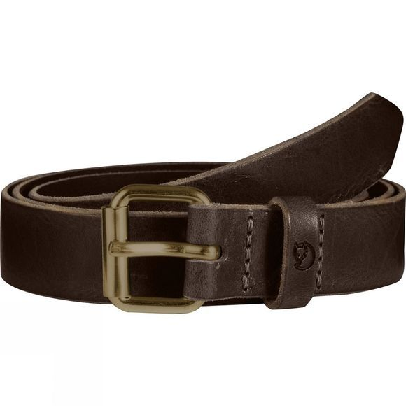 Fjallraven Singi Belt 2.5cm Leather Brown