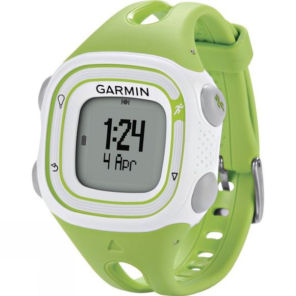 Garmin Forerunner 10 Running Watch Green/White