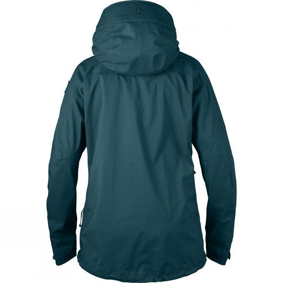 Fjallraven Womens Keb Eco-Shell Anorak Glacier Green