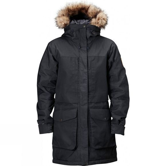Fjallraven Womens Barents Parka W Black