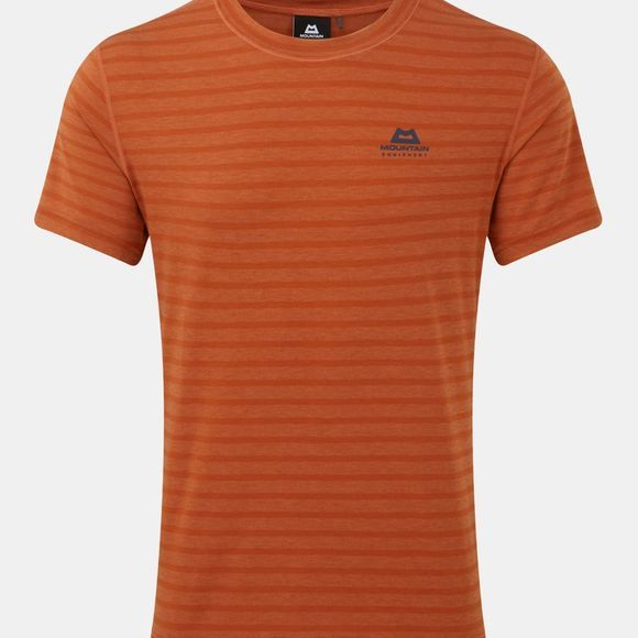 Mountain Equipment Men's Groundup Plain Tee Bracken Stripe