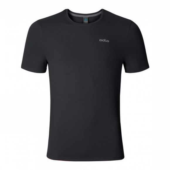 Odlo Mens Sillian Short Sleeve T-Shirt Black