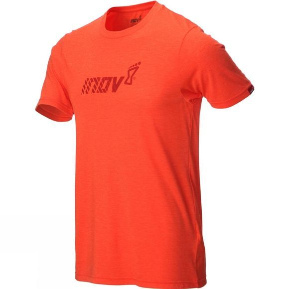 Inov-8 Mens Tri Blend Short Sleeve Division Top Red