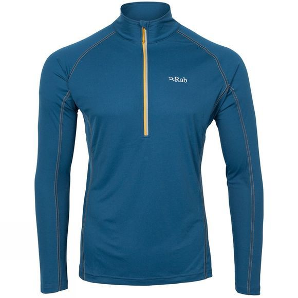 Rab Men's Interval Long Sleeve Tee Ink