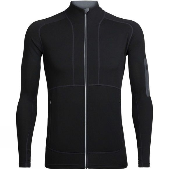 Mens Tracer Long Sleeve Zip Top