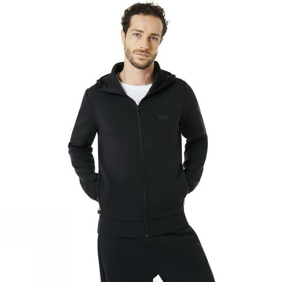 Oakley Mens Tech Knit FZ Hoody Blackout