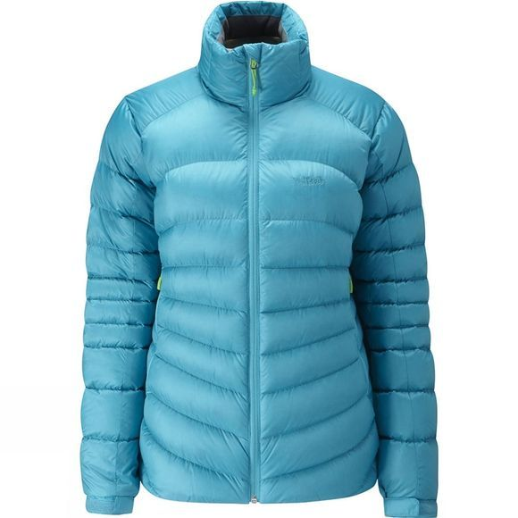 Rab Women's Cirque 650 Down Jacket Tasman/Zinc