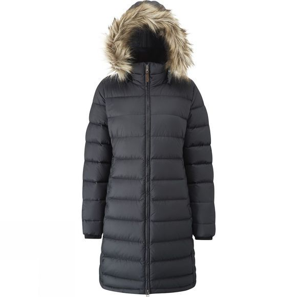 Rab Womens Deep Cover Parka Black/Shark