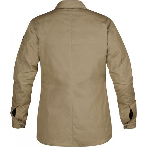 Fjallraven Womens Down Shirt Jacket No. 1 Sand