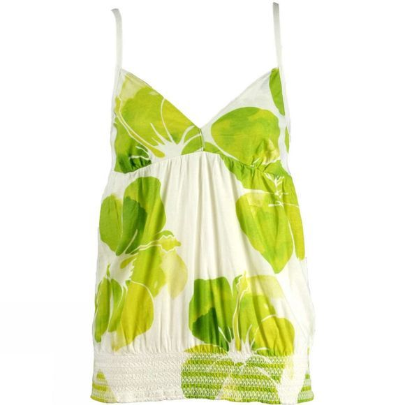 Women's Juicy Laugh Print Strappy Top