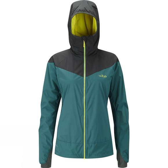 Rab Women's Rampage Jacket Dark Jade