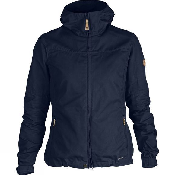 Fjallraven Womens Stina Jacket Dark Navy