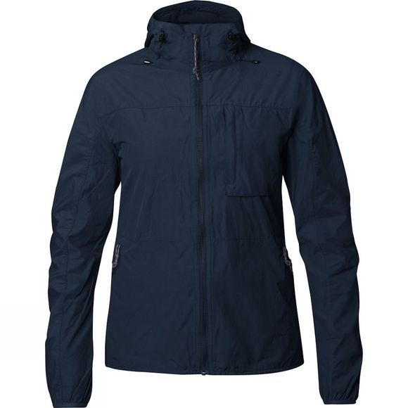 Fjallraven Womens High Coast Wind Jacket Navy