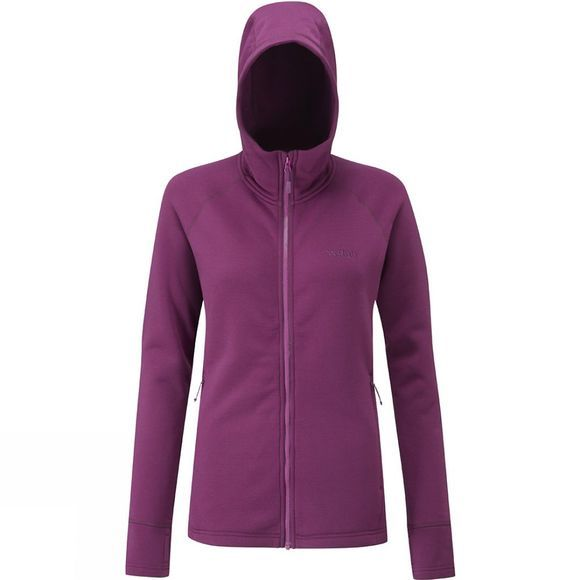 Rab Women's Power Stretch Pro Jacket Berry/Tayberry