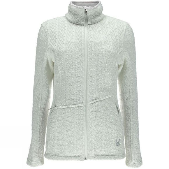 Spyder Women's Major Cable Core Sweater White