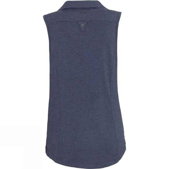 Columbia Women's Spring Drifter Sleeveless Shirt India Ink Heather
