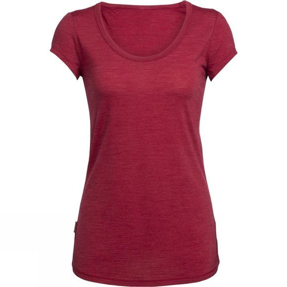 Womens Spheria Short Sleeve Scoop Tee