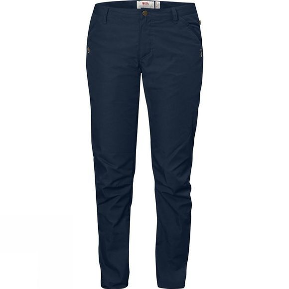 Fjallraven Womens High Coast Trousers Navy