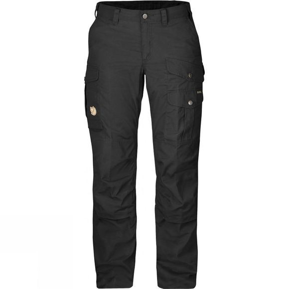 Fjallraven Womens Barents Pro Trousers Black / Black