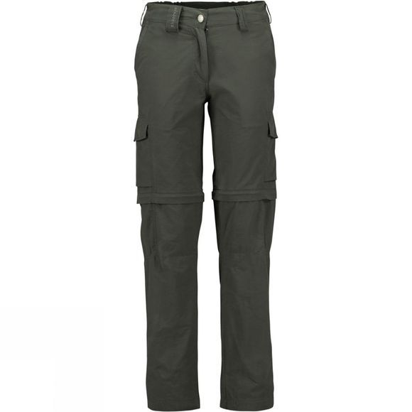 Ayacucho Women's Dunya III Zip Off Trousers Dark Grey