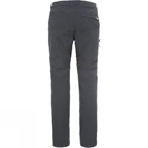 The North Face Women's Exploration Convertible Pant ASPHALT GREY