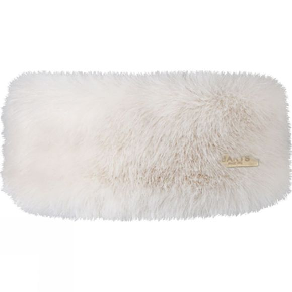Barts Faux Fur Headband White