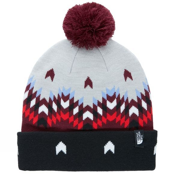 The North Face Ski Tuke V Beanie Deep Garnet Red