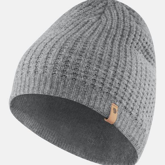 Fjallraven Mens Structure Beanie Grey