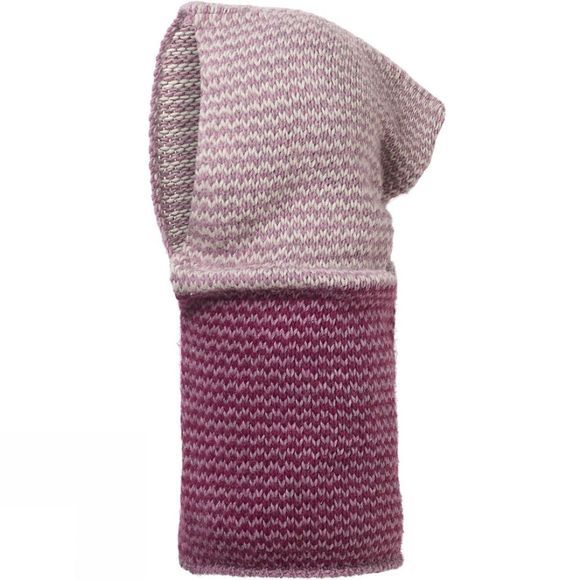 Buff Buff Knitted Hood Cay Lilac Shadow