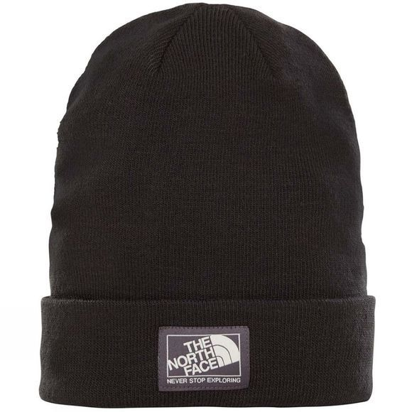 The North Face Dock Worker Beanie TNF Black/ Weather Black
