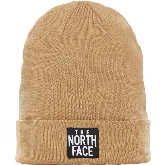 The North Face Dock Worker Beanie Kelp Tan/ Black