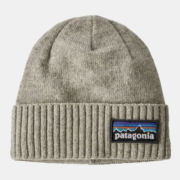 Patagonia Brodeo Beanie P-6 Logo Drifter Grey