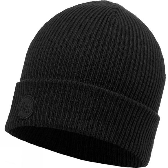 Buff Edsel Knitted Hat Black