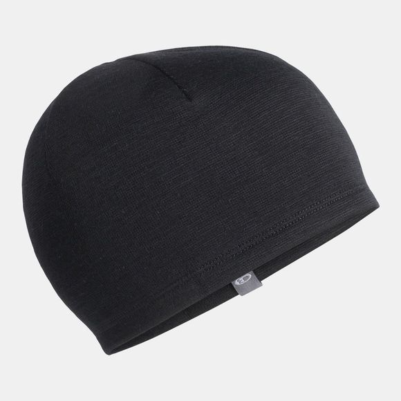 Icebreaker Mens Elemental Beanie Black