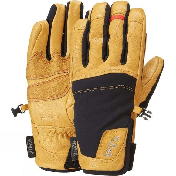 Rab Mens Guide Short Gloves Kangaroo