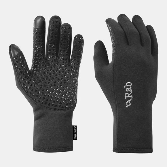 Rab Power Stretch Contact Grip Glove Beluga